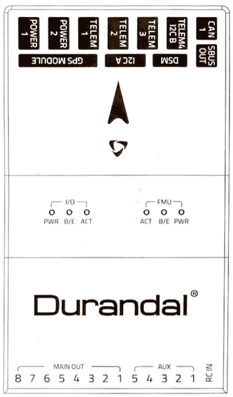 Durandal - Top Pinouts (Schematic)