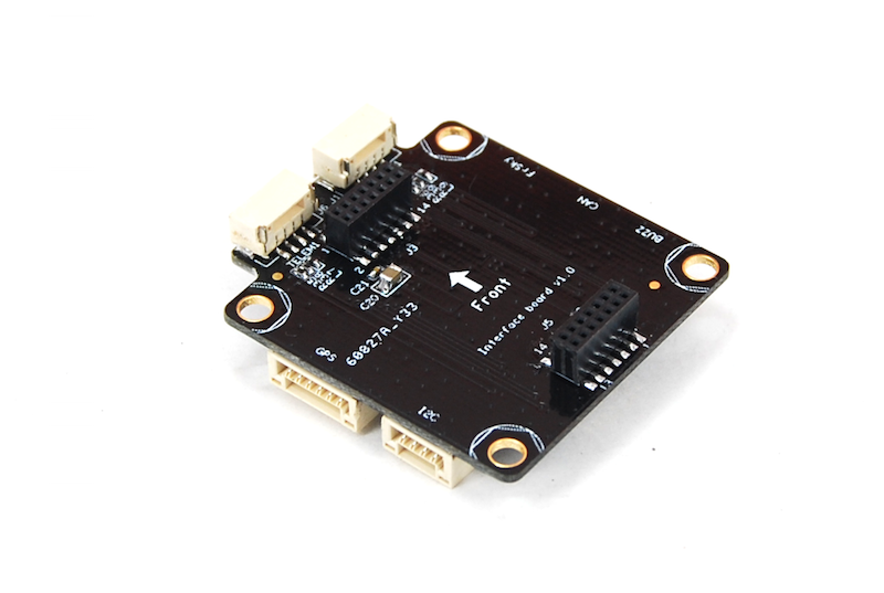 Attached Adapt IO board