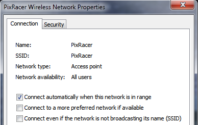 Windows Network Setup: Connection