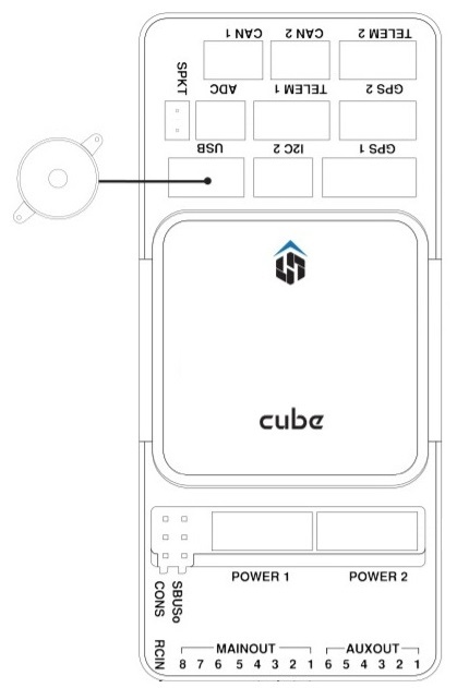 Pixhawk 2 Cube Wiring Diagram from docs.px4.io