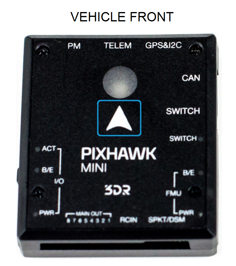 Pixhawk Mini (Discontinued) · PX4 v1 8 2 User Guide