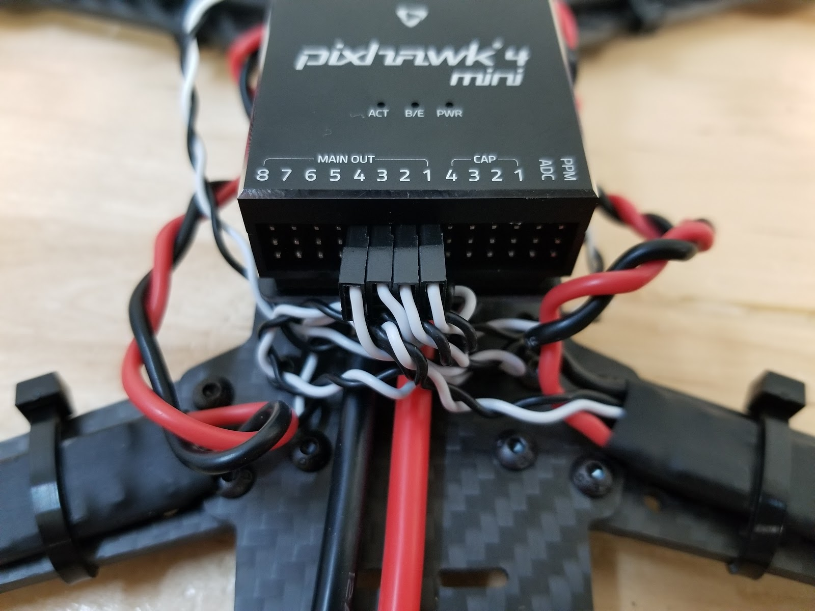 QAV250 (Pixhawk4 Mini) · PX4 v1 9 0 User Guide