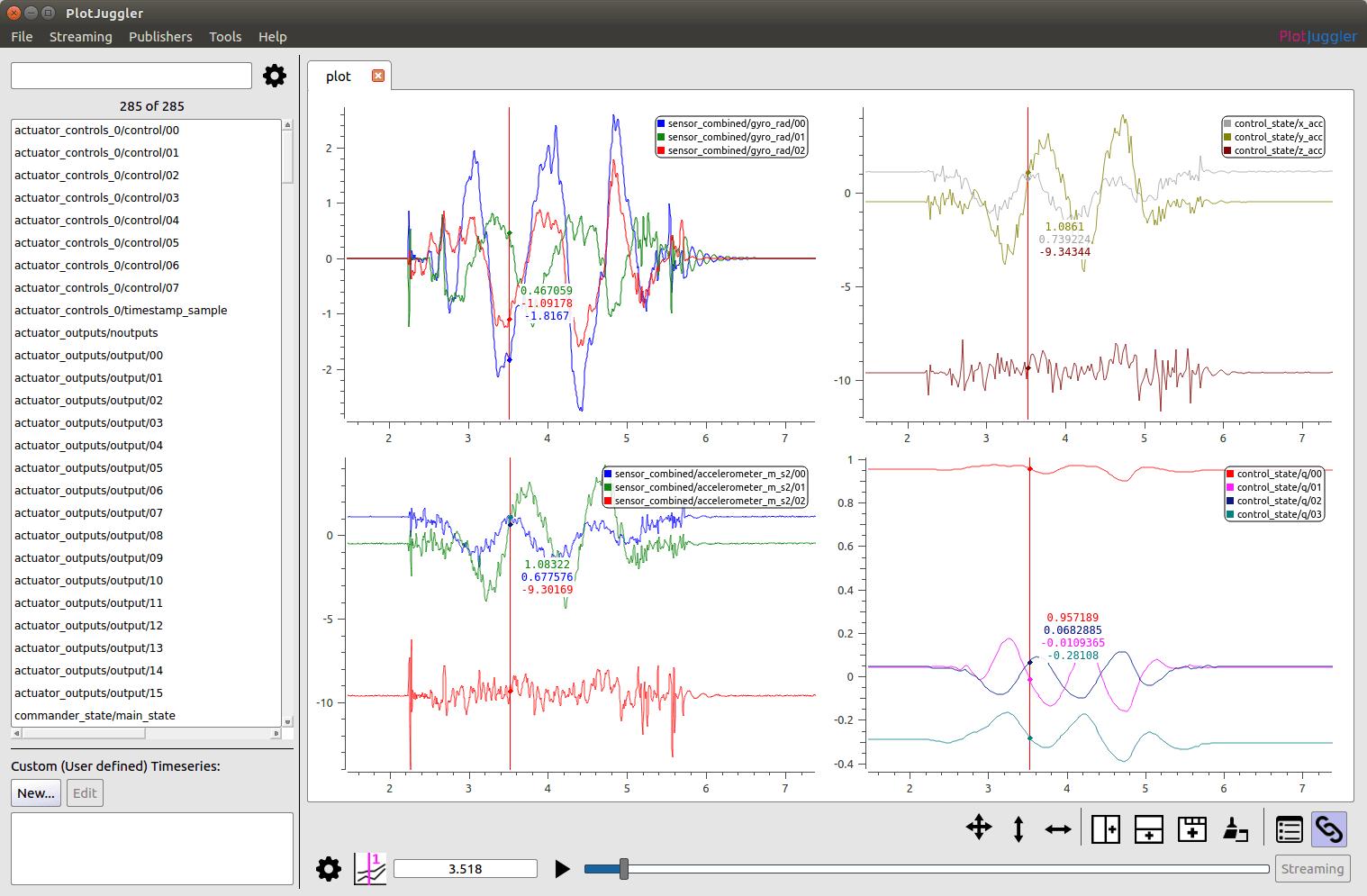 Flight Log Analysis · PX4 v1 9 0 User Guide