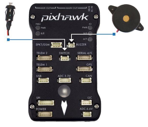 Pixhawk Wiring Quickstart · PX4 v1 9 0 User Guide